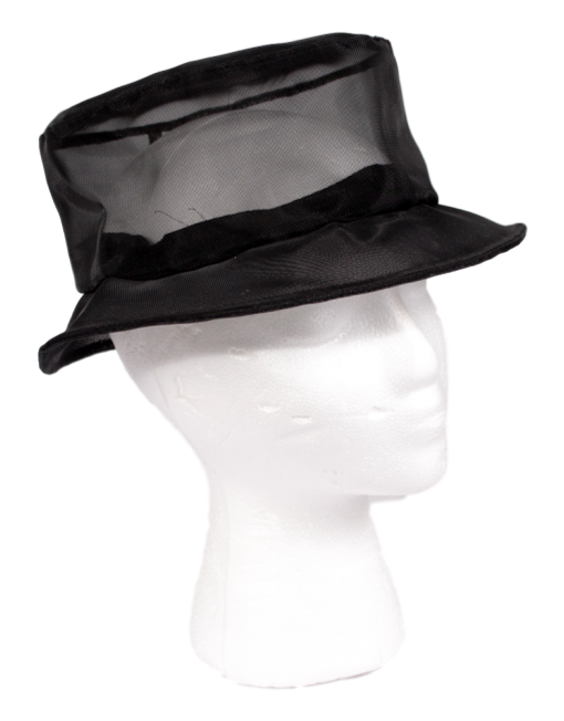 SHEER MESH BRIM HAT - eKlozet Luxury Consignment