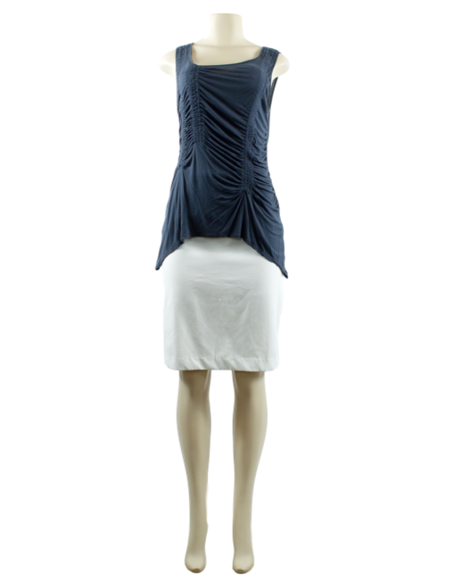Sleeveless Ruched Top - eKlozet Luxury Consignment
