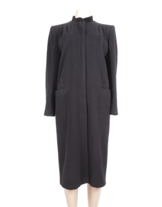 Valentino Wool and Cashmere Coat Front - eKlozet Luxury Consignment Boutique