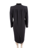 Valentino Wool and Cashmere Coat Back - eKlozet Luxury Consignment Boutique