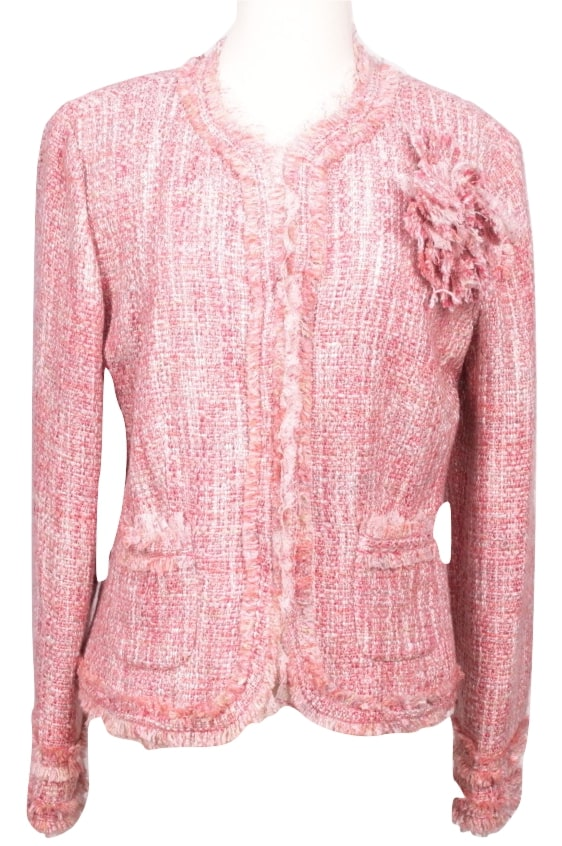 WDNY Tweed Jacket-FRONT-eKlozet Luxury Consignment