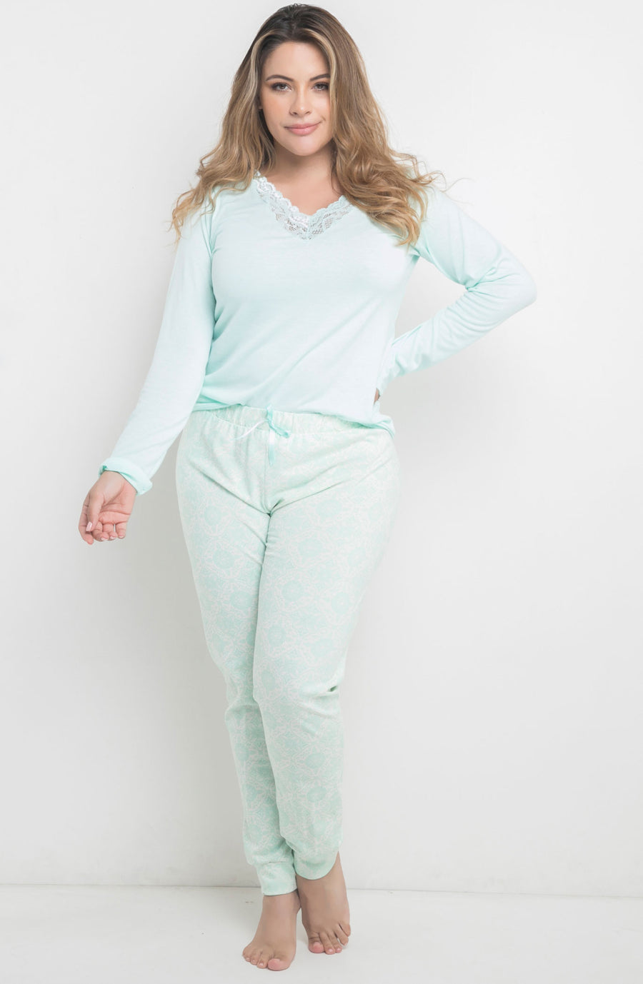 Pijama Pantalon Plus size