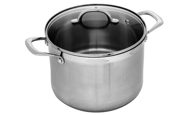 Premium Steel Stainless Stock Pot
