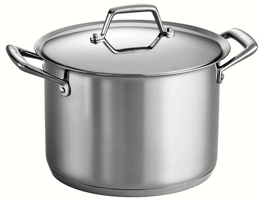 Tramontina Prima 12 Qt Stainless Steel Stock Pot