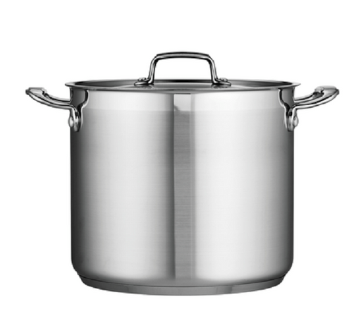 Stainless Steel Covered Stock Pot