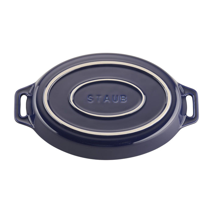 Staub Ceramics 2-Piece Oval Baking Dish Set