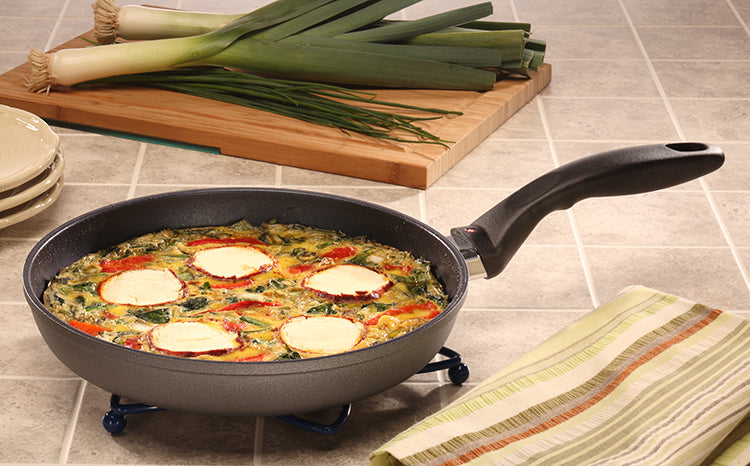 Swiss Diamond Nonstick Fry Pan With Lid - 10.25""