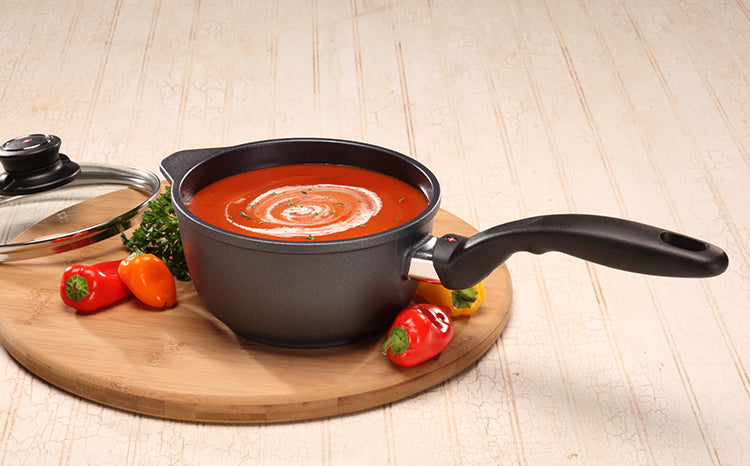 "Swiss Diamond Nonstick Saucepan With Lid - 1.4 Qt (6.3"")"