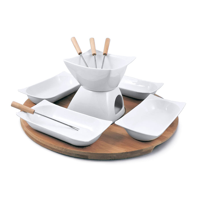 Chocolate Fondue Set White