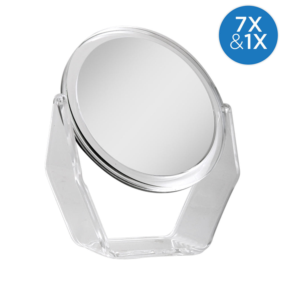 Swivel Vanity Mirror, 1X/7X