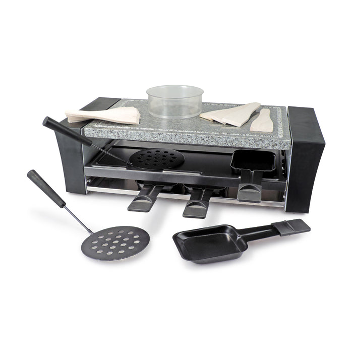 Pizza raclette party grill