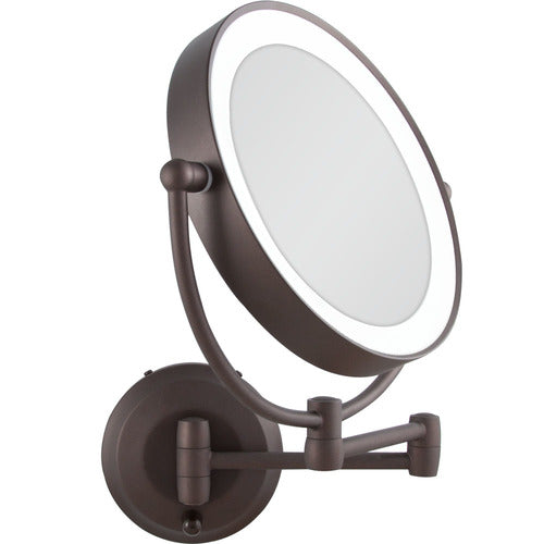 Lighted Round Wall Mount Mirror