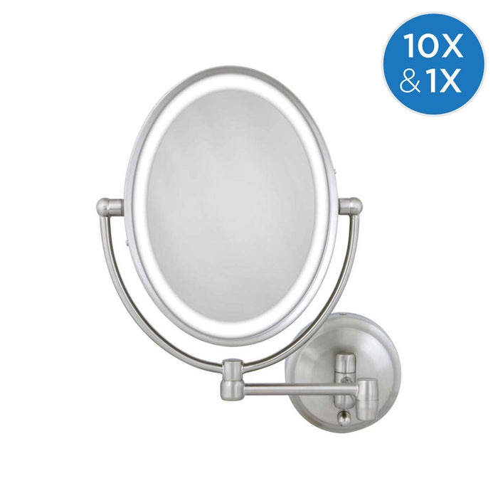 Oval Wall Mount Mirror