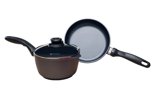 Fry Pan and Saucepan