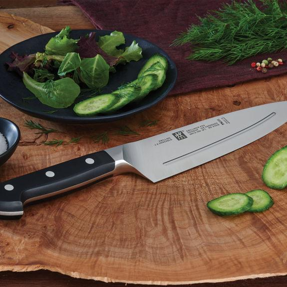 ridged chef's knifes