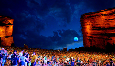 5 REASONS WHY EVERYONE SHOULD SEE A SHOW AT RED ROCKS