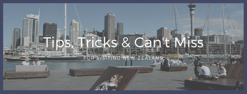 Tips for Visiting New Zealand from Vibe and Venture