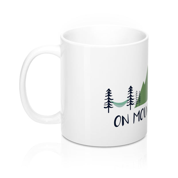 On Mountain Time Mug 11oz