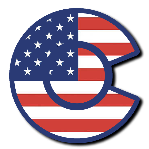 Colorado USA Flag from Vibe and Venture
