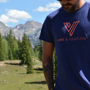 Vibe and Venture Unisex Logo T-Shirt