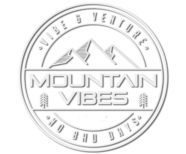 Mountain Vibes Sticker from Vibe and Venture