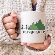 On Mountain Time Mug from Vibe and Venture
