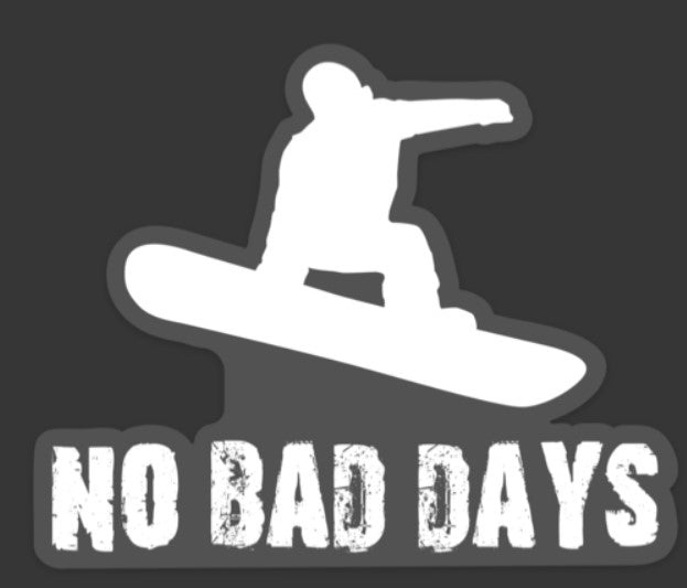 Vibe and Venture No Bad Days Sticker