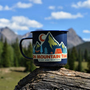On Mountain Time Sticker