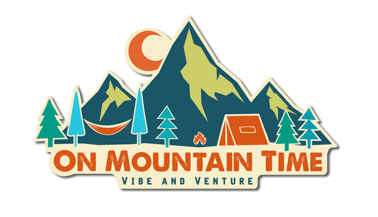 On Mountain Time Sticker from Vibe and Venture
