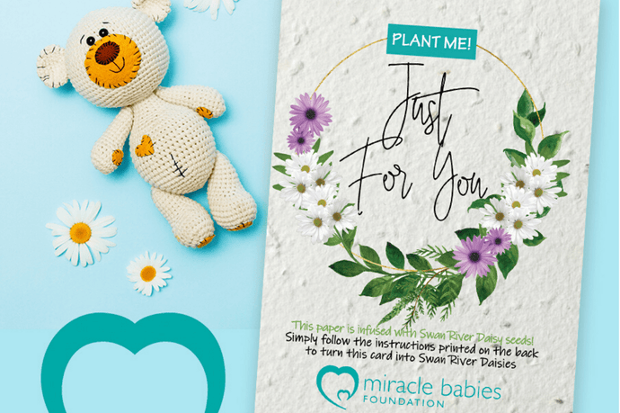 Plantacard and Miracle Babies Foundation