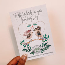 Plantable Wedding Card That Grows Into Swan River Daisy