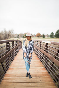 Fireside Gingham Top