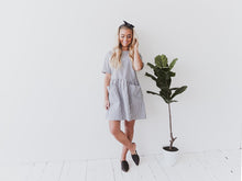 Stripe Babydoll Dress