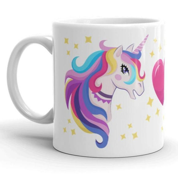 Unicorn Love Mug