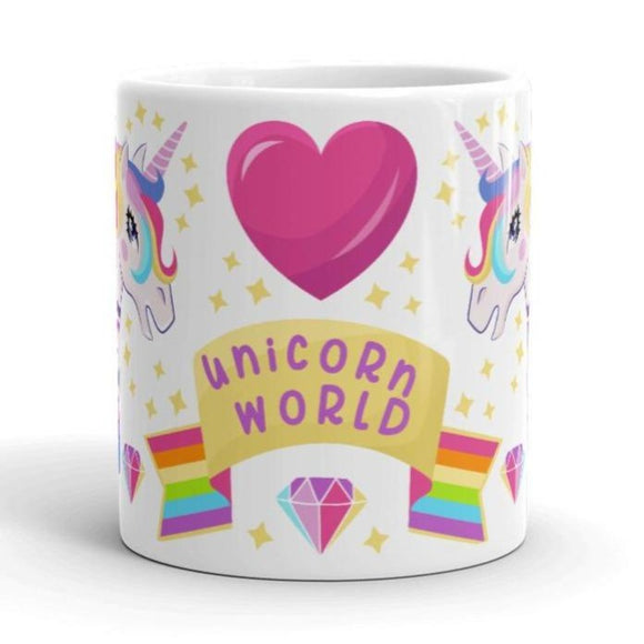 Unicorn World Mug