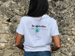 camiseta moto Hamster Be Lifetrotter