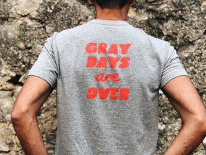 camiseta Hamster gray days are over