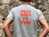 camiseta moto Hamster gray days are over
