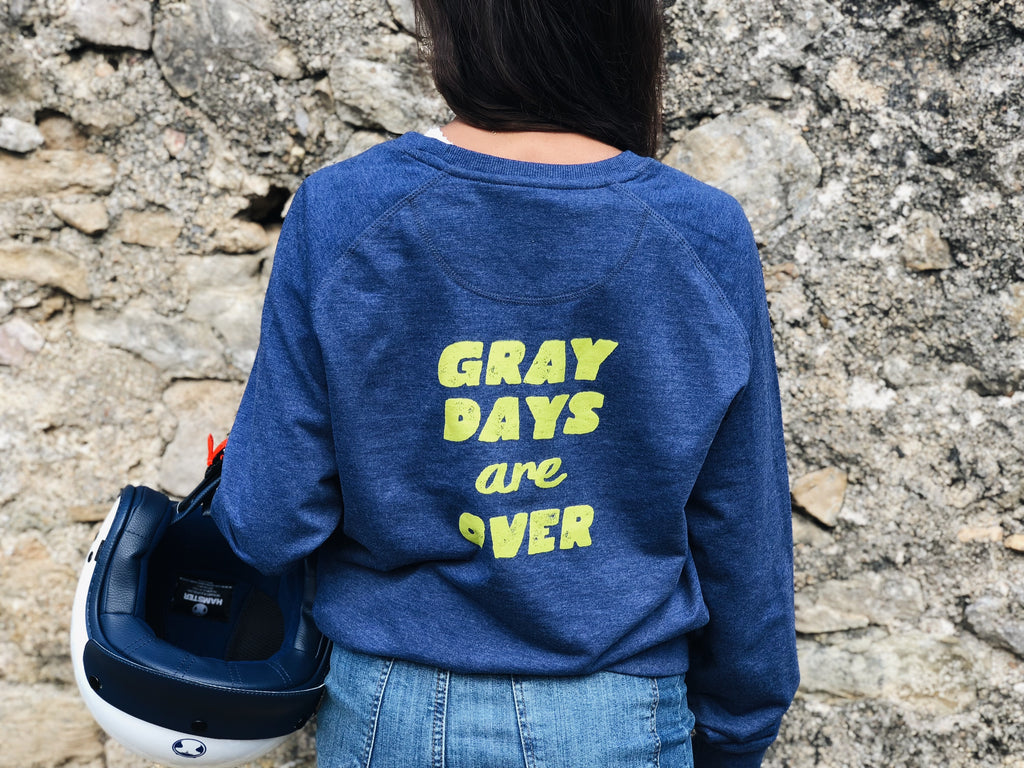 sudadera hamster gray days are over