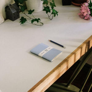 Azure Blue Notebook - MAULE & MAULE