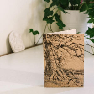 Under This Old Tree - Kraft Card - MAULE & MAULE