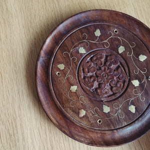 Hand Carved Incense Holder - MAULE & MAULE