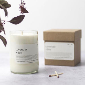 Lavender and Bay Candle - MAULE & MAULE