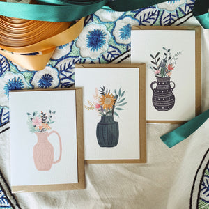 Botanical Greeting Cards - Bundle of 3 - MAULE & MAULE