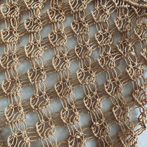 Macramé Jute Shopping Bag