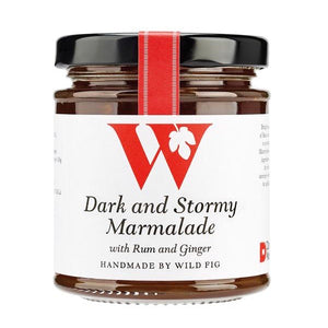 Dark and Stormy Marmalade with Rum and Ginger - MAULE & MAULE