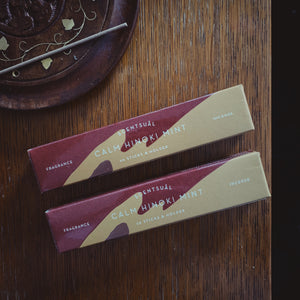 Calm Hinoki Mint Incense - MAULE & MAULE