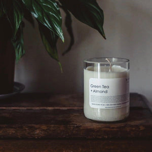 Green Tea and Almond Candle - MAULE & MAULE