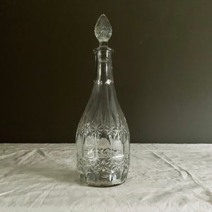 Edwardian Glass Decanter