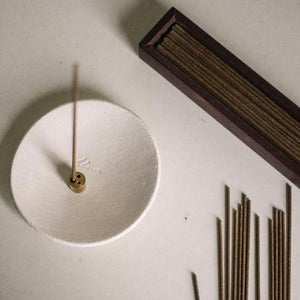 Stoneware Incense Holder - MAULE & MAULE